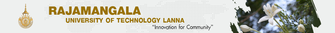 Website logo Higher Education ways and Higher Education Crises in Thailand 4.0 era | Faculty of Engineering Rajamangala University of Technology Lanna